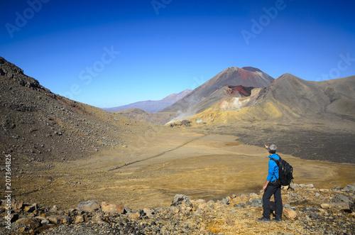 Keuken foto achterwand Marokko View of volcano at Tongariro Crossing