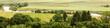 Panorama mit Blick auf die Donau