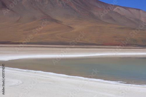 Foto op Aluminium Cappuccino Salar de Uyuni in Bolivia