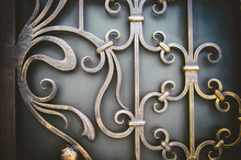 Ornate Wrought-iron Elements O...
