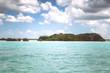 Caribbean shore beach