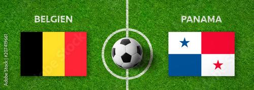Fußball - Belgien gegen Panama Wallpaper Mural