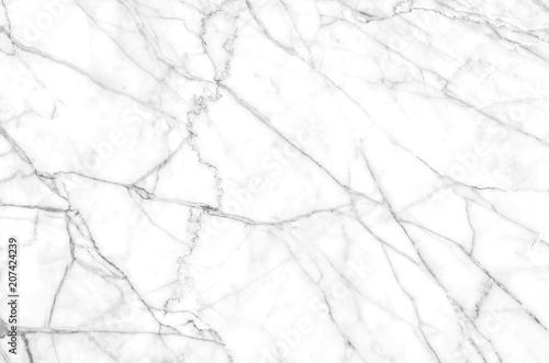 Fototapeta gray and white natural marble pattern texture background obraz na płótnie