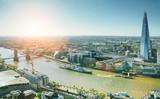 Fototapeta Londyn - The london Tower bridge at sunrise