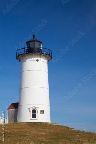Foto op Plexiglas Vuurtoren Nobska Point Light is a lighthouse located on the Cape Cod, USA