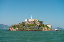 San Francisco Alcatraz Island From Cruise Ship