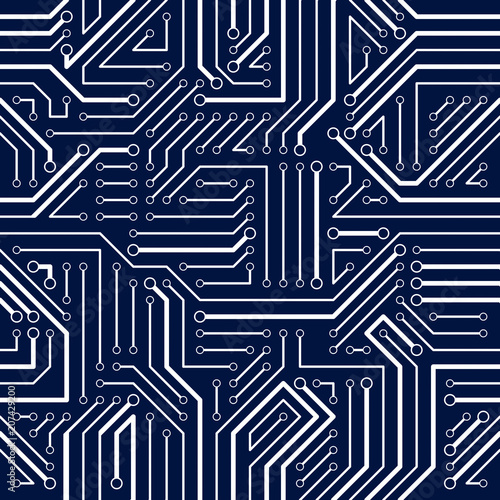 circuit diagram wallpaper circuit board seamless pattern  vector background microchip  circuit board seamless pattern  vector
