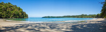 Panorama Of A Beach In Costa R...