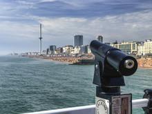 The Beach Of Brighton. A Vue O...