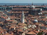 Włochy, Wenecja - widoki na miasto z kampanili (Dzwonnicy Św. Marka)