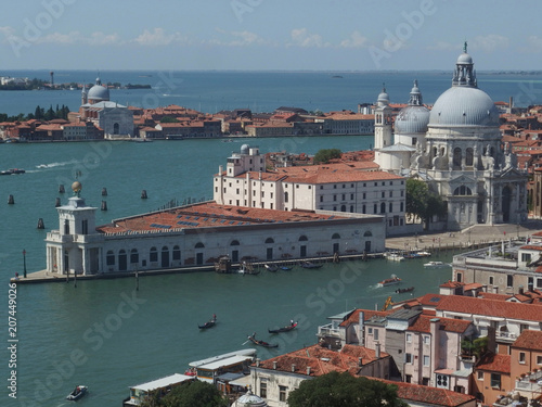 Fototapeta Włochy, Wenecja - widoki z kampanili (Dzwonnicy Św. Marka) obraz