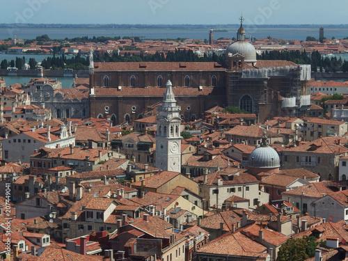 Fototapeta Włochy, Wenecja - widoki na miasto z kampanili (Dzwonnicy Św. Marka) obraz