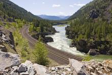 Kootenai River Train Tracks No...