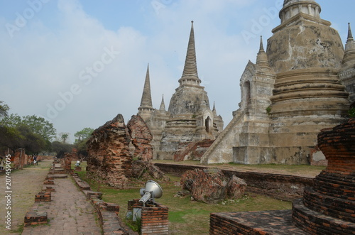 Fotobehang Bedehuis temple thailand