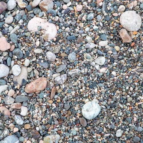 Fényképezés  Many Pebbles background