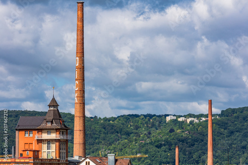 Fotografie, Obraz  Dick in Esslingen am Neckar