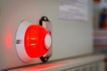 Red Alarm Warning Lamp