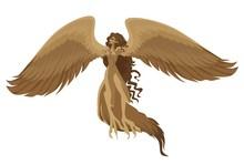 Flying Woman Mythology Harpy