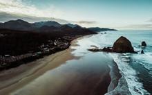 Cannon Beach Aerial View