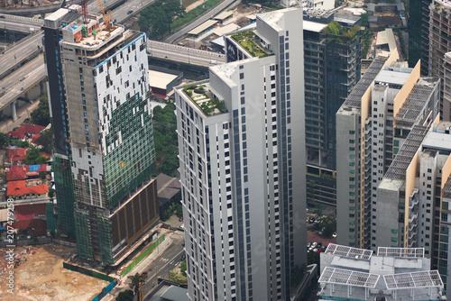 Foto op Canvas Kuala Lumpur Rooftops in Kuala Lumpur, Malaysia