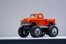Model Of A Retro SUV On Large ...