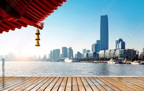 Fotografía  Shanghai city skyline