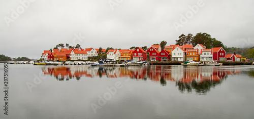 Staande foto Scandinavië Norwegen