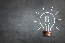 Dollar Lightbulb