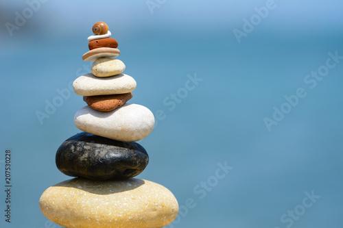 Foto op Canvas Zen gorgeous sequined zen stones