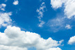 blue sky with clouds, Summer Wallpaper