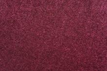 Velvet Fabric Of Claret Color