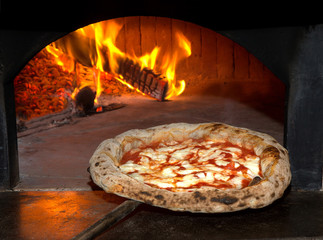 Panel Szklany Do pizzerii Pizza Margherita