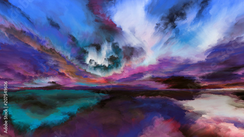 Energy of Abstract Landscape