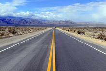 Driving On The Open Road In Th...