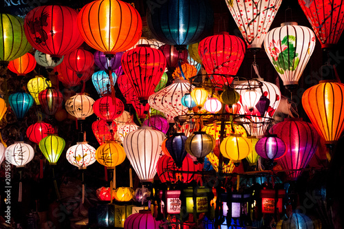 Fotografie, Obraz Hoi An Lanterns