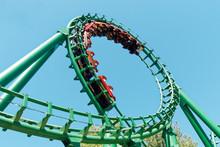 Loop Rollercoaster Fun Ride At...
