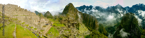 Photo Cuzco, Peru - May 2015: Machu Picchu, 'the lost city of the Incas', an ancient a