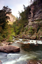 View Of The The Tallulah River...