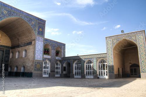 Foto op Plexiglas Oude gebouw Jameh mosque in Kerman, Iran.