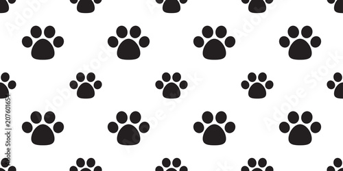 Dog Paw Seamless Pattern Vector Footprint Cat Paw Cartoon Background Wallpaper Isolated Buy This Stock Vector And Explore Similar Vectors At Adobe Stock Adobe Stock