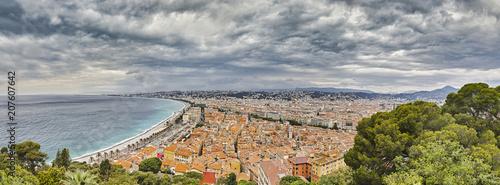 Foto op Plexiglas Nice Nice City Panorama France