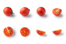 Set Of Different Cherry Tomato...