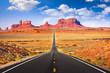 canvas print picture - Monument Valley, Arizona, USA