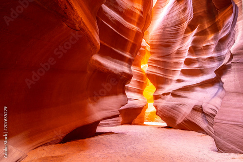 In de dag Canyon Upper Antelope Canyon
