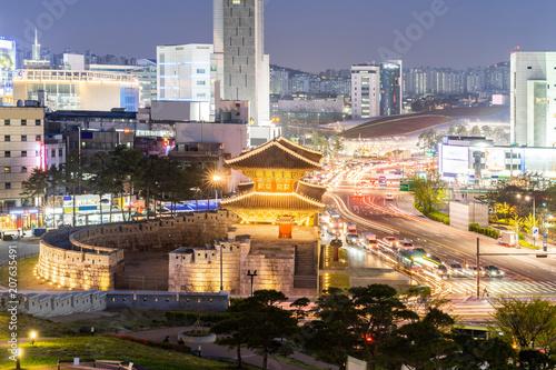Poster Seoel Dongdaemun gate Seoul