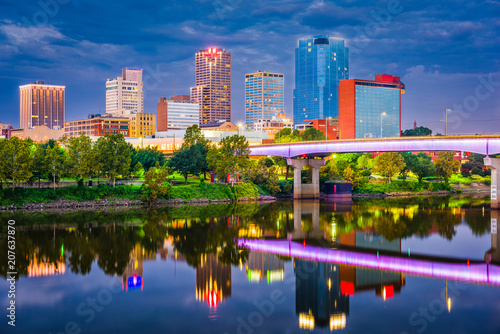 Photo Little Rock, Arkansas, USA Skyline
