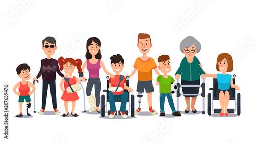 Fotografía  Disabled characters