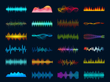 Audio Waveform Signals, Wave S...