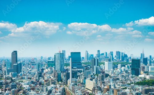 Aluminium Prints Blue 東京風景