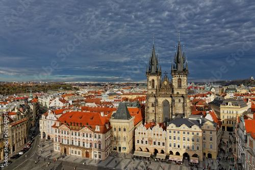 Staande foto Praag Church of Our Lady before Týn, Prague.